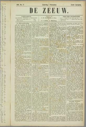 De Zeeuw. Christelijk-historisch nieuwsblad voor Zeeland 1891-11-07