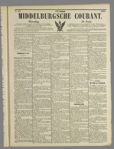 Middelburgsche Courant 1906-06-18