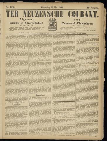 Ter Neuzensche Courant. Algemeen Nieuws- en Advertentieblad voor Zeeuwsch-Vlaanderen / Neuzensche Courant ... (idem) / (Algemeen) nieuws en advertentieblad voor Zeeuwsch-Vlaanderen 1884-05-28