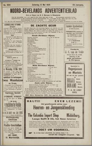 Noord-Bevelands Nieuws- en advertentieblad 1926-05-15