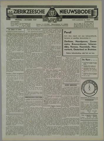 Zierikzeesche Nieuwsbode 1937-10-01