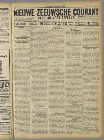 Nieuwe Zeeuwsche Courant 1922-02-28