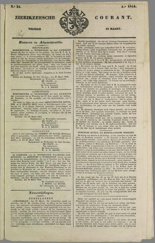 Zierikzeesche Courant 1844-03-22