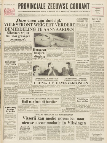 Provinciale Zeeuwse Courant 1970-09-15