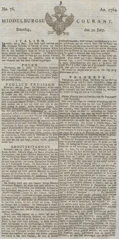 Middelburgsche Courant 1764-06-30