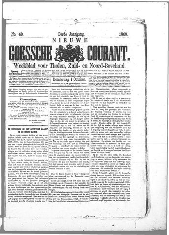 Nieuwe Goessche Courant 1868-10-01