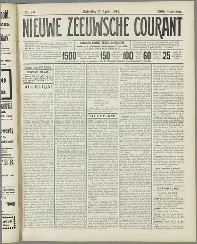 Nieuwe Zeeuwsche Courant 1915-04-03