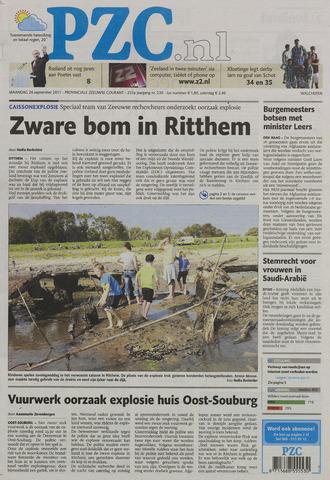 Provinciale Zeeuwse Courant 2011-09-26