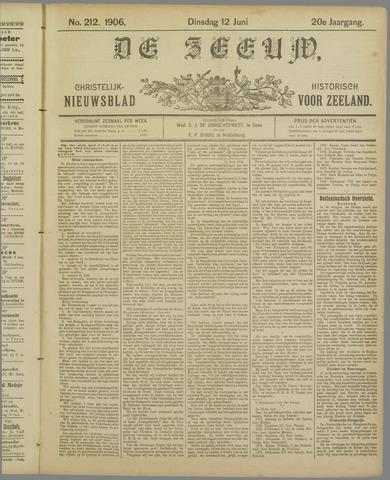 De Zeeuw. Christelijk-historisch nieuwsblad voor Zeeland 1906-06-12