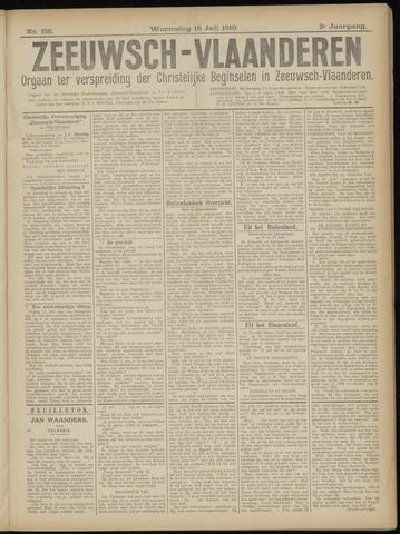 Luctor et Emergo. Antirevolutionair nieuws- en advertentieblad voor Zeeland / Zeeuwsch-Vlaanderen. Orgaan ter verspreiding van de christelijke beginselen in Zeeuwsch-Vlaanderen 1919-07-16