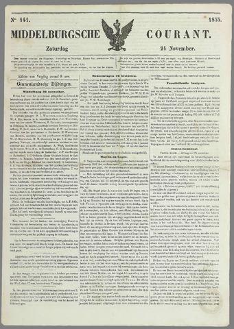 Middelburgsche Courant 1855-11-24