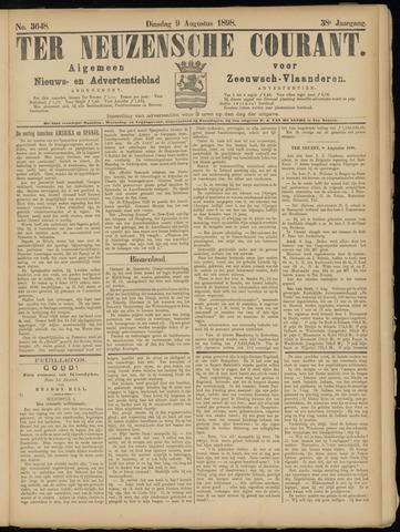 Ter Neuzensche Courant. Algemeen Nieuws- en Advertentieblad voor Zeeuwsch-Vlaanderen / Neuzensche Courant ... (idem) / (Algemeen) nieuws en advertentieblad voor Zeeuwsch-Vlaanderen 1898-08-09