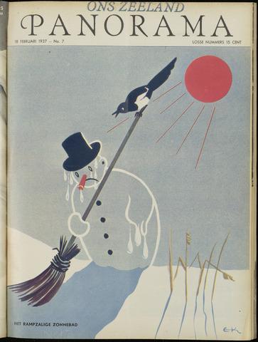 Ons Zeeland / Zeeuwsche editie 1937-02-18