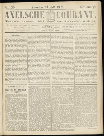 Axelsche Courant 1923-07-24