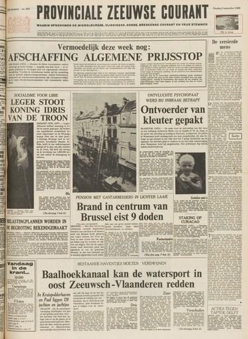 Provinciale Zeeuwse Courant 1969-09-02