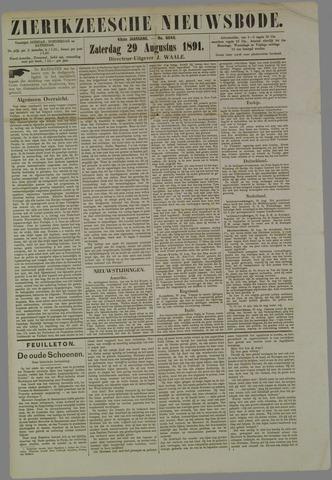 Zierikzeesche Nieuwsbode 1891-08-29