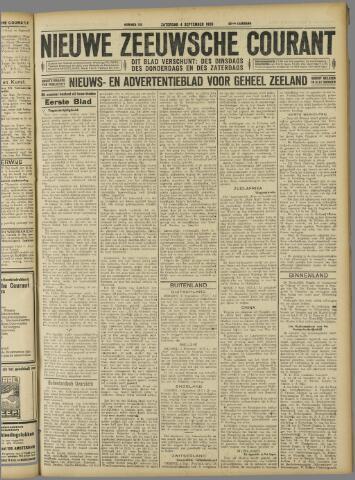 Nieuwe Zeeuwsche Courant 1926-09-04