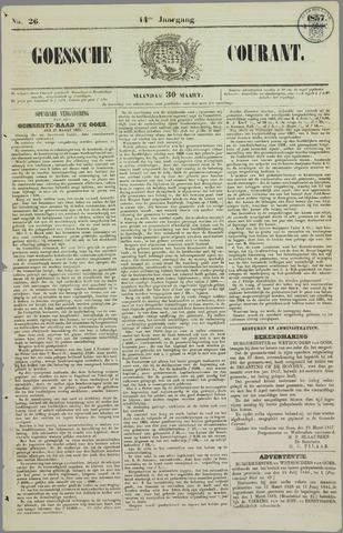 Goessche Courant 1857-03-30