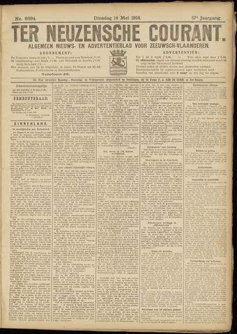 Ter Neuzensche Courant. Algemeen Nieuws- en Advertentieblad voor Zeeuwsch-Vlaanderen / Neuzensche Courant ... (idem) / (Algemeen) nieuws en advertentieblad voor Zeeuwsch-Vlaanderen 1918-05-14