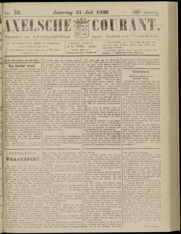 Axelsche Courant 1920-07-31