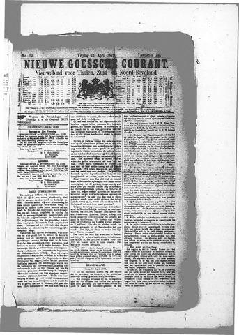 Nieuwe Goessche Courant 1879-04-11