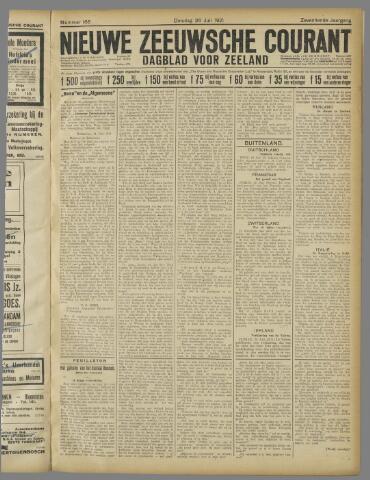 Nieuwe Zeeuwsche Courant 1921-07-26