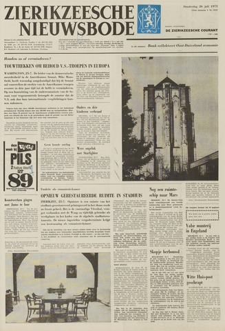 Zierikzeesche Nieuwsbode 1973-07-26