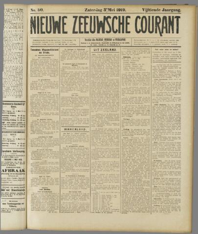 Nieuwe Zeeuwsche Courant 1919-05-03