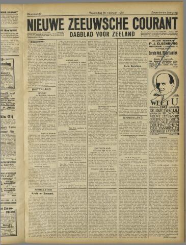 Nieuwe Zeeuwsche Courant 1921-02-16