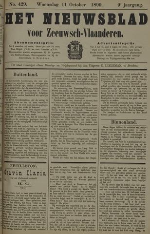 Nieuwsblad voor Zeeuwsch-Vlaanderen 1899-10-11