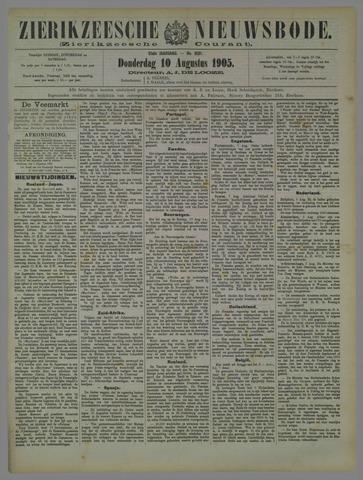 Zierikzeesche Nieuwsbode 1905-08-10