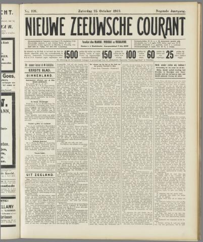 Nieuwe Zeeuwsche Courant 1913-10-25