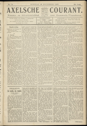 Axelsche Courant 1927-12-20