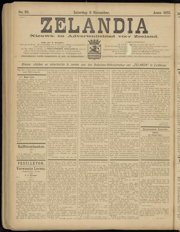 Zelandia. Nieuws-en advertentieblad voor Zeeland | edities: Het Land van Hulst en De Vier Ambachten 1902-11-08