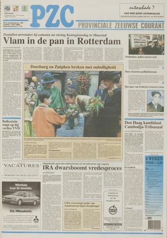 Provinciale Zeeuwse Courant 1998-05-01