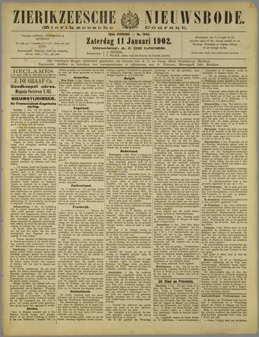 Zierikzeesche Nieuwsbode 1902-01-11