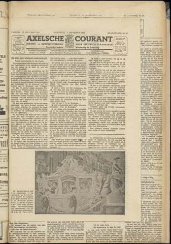 Axelsche Courant 1948-09-08
