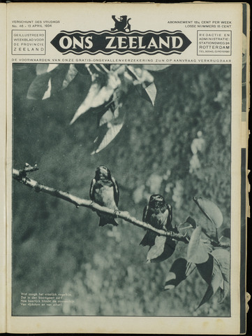 Ons Zeeland / Zeeuwsche editie 1934-04-13