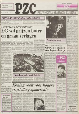 Provinciale Zeeuwse Courant 1985-01-31