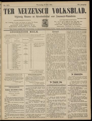 Ter Neuzensch Volksblad. Vrijzinnig nieuws- en advertentieblad voor Zeeuwsch- Vlaanderen / Zeeuwsch Nieuwsblad. Nieuws- en advertentieblad voor Zeeland 1911-05-31
