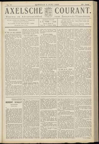 Axelsche Courant 1939-06-06