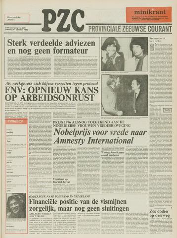 Provinciale Zeeuwse Courant 1977-10-11