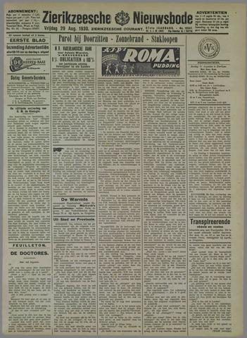 Zierikzeesche Nieuwsbode 1930-08-29