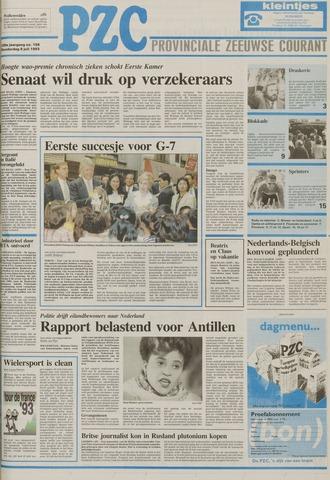 Provinciale Zeeuwse Courant 1993-07-08
