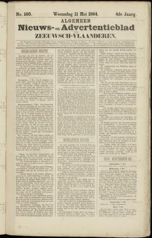 Ter Neuzensche Courant. Algemeen Nieuws- en Advertentieblad voor Zeeuwsch-Vlaanderen / Neuzensche Courant ... (idem) / (Algemeen) nieuws en advertentieblad voor Zeeuwsch-Vlaanderen 1864-05-11