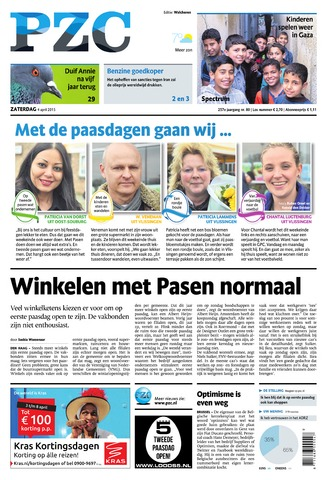 Provinciale Zeeuwse Courant 2015-04-04