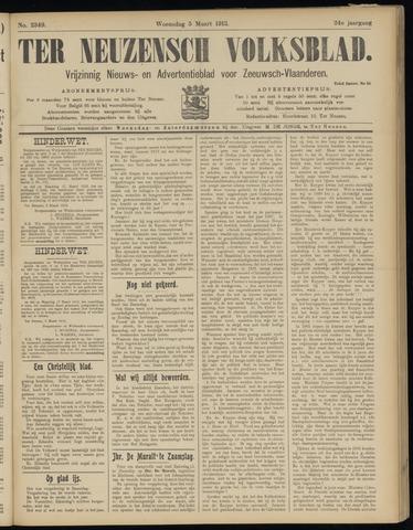 Ter Neuzensch Volksblad. Vrijzinnig nieuws- en advertentieblad voor Zeeuwsch- Vlaanderen / Zeeuwsch Nieuwsblad. Nieuws- en advertentieblad voor Zeeland 1913-03-05