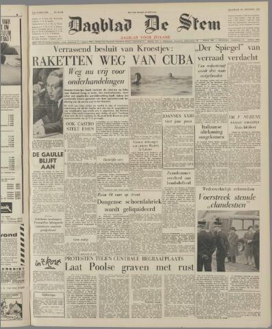 de Stem 1962-10-29