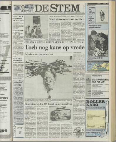 de Stem 1991-01-07