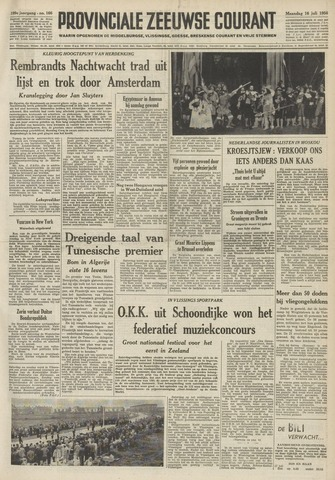Provinciale Zeeuwse Courant 1956-07-16